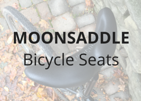 Moonsaddle bicycle seat