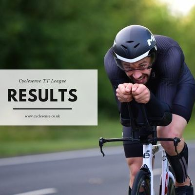Cyclesense Time Trial League Results - Round Twelve 18/07/2019