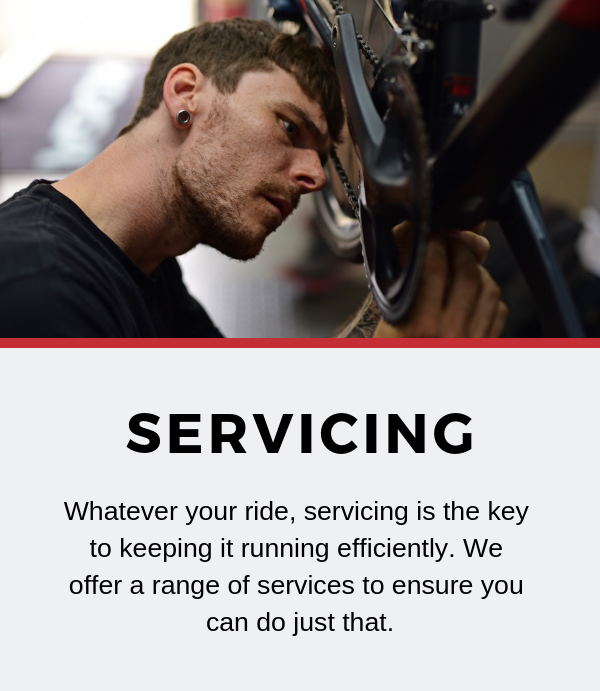 Bike Servicing Tadcaster York Leeds