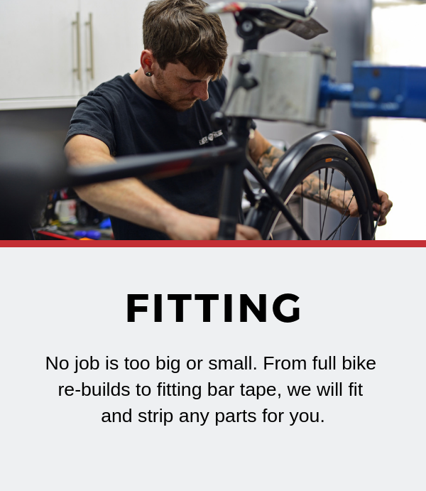 bike parts fitting Tadcaster York Leeds