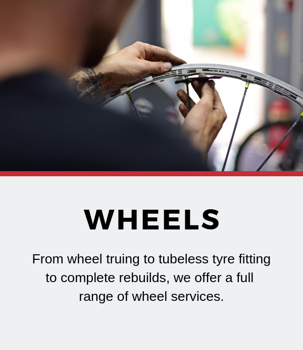 wheel building servicing Tadcaster York Leeds